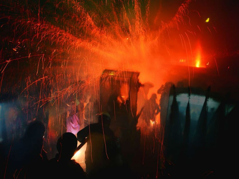 Yanshuei (Yanshui) Beehive Fireworks Festival