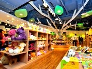 Magic Forest Sounenir Store in Taipei Children's Amusement Park