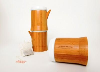 Ceramic Bamboo Mug