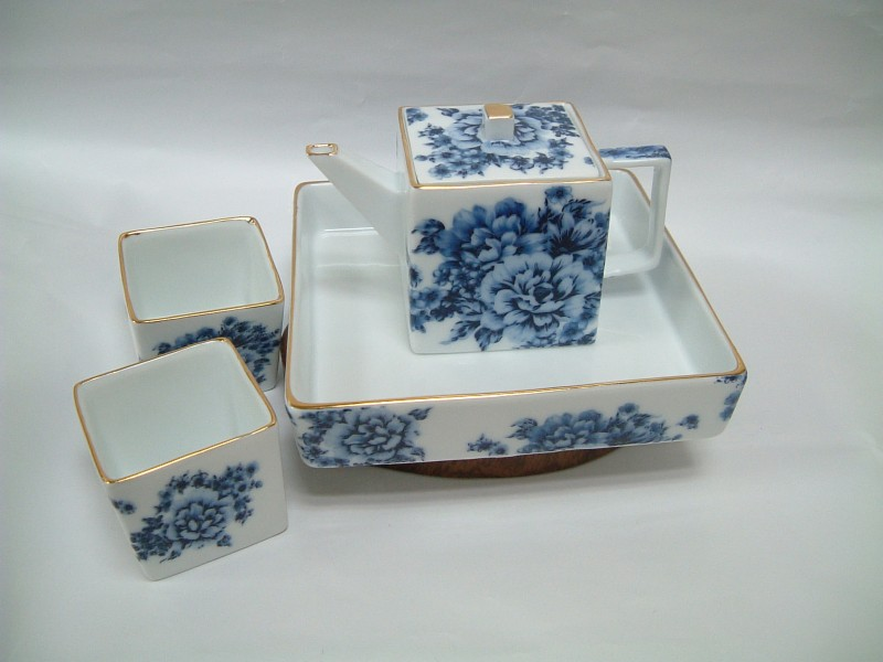 Rectangular Ink Pot Set