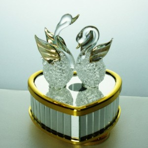 Swan Music Box