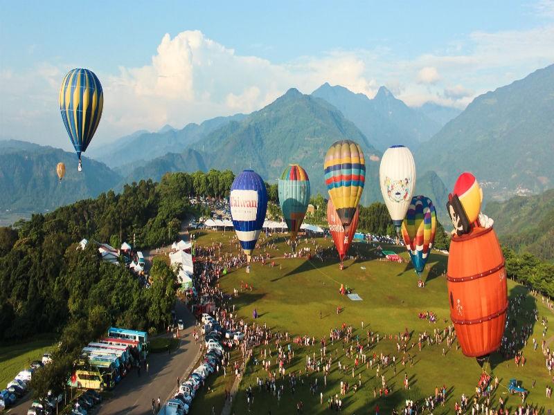 台湾熱気球フェスティバル