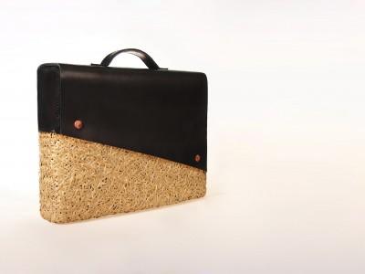 竹編みビジネスバッグ