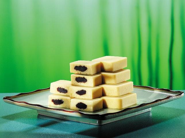 オシドリ緑豆糕