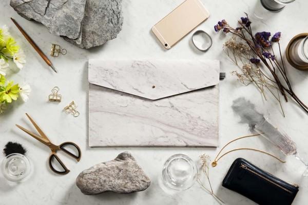大理石袋具系列-13吋大理石手拿包