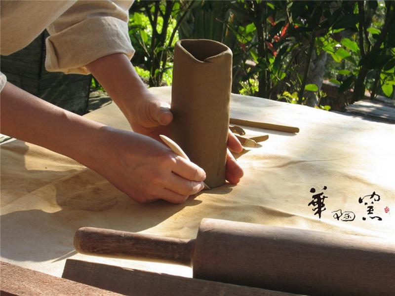 苗栗民俗製陶技法
