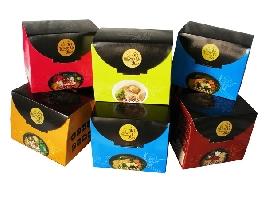 Dr.WEI阿嬤ㄟ手感金絲麵★金絲麵輕鬆分享★綜合口味搭配組(6盒裝 共24包)
