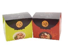 Dr.WEI阿嬤ㄟ手感金絲麵★金絲麵輕鬆分享★素食口味搭配組(6盒裝 共24包)