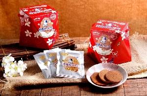 嘉冠喜-特濃鮮乳煎菓禮盒-客家桐花版