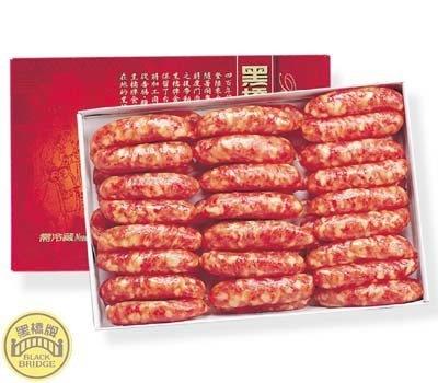 黑橋牌五香香腸禮盒,堅持採用安心的CAS豬肉。 封面圖片