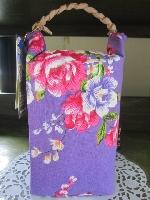 1KG客家花布系列-紫色 其他圖片3