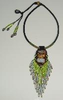 福爾摩沙琉璃細珠項鍊