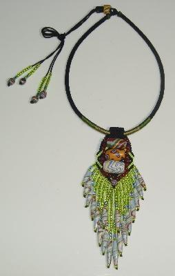 福爾摩沙琉璃細珠項鍊 封面圖片