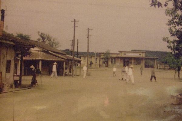 1955年銅鑼火車站 店家其他1