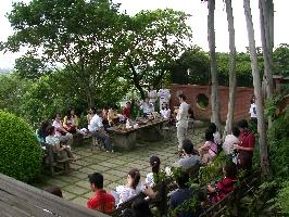 台灣式園林導覽與捏陶服務