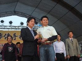 榮獲2012年台南市伴手禮獎 店家其他1
