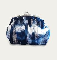 藍染手提包