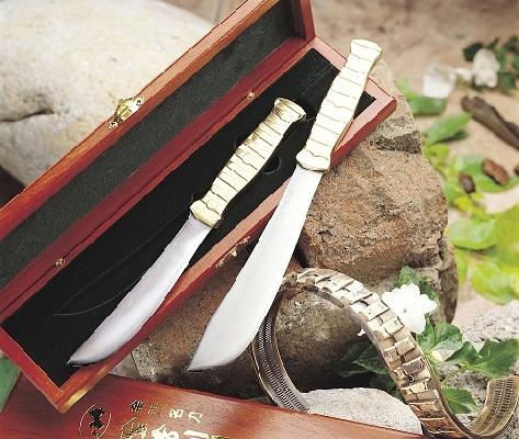 C-1銅柄彈帶紀念刀禮盒(單盒裝) 封面圖片