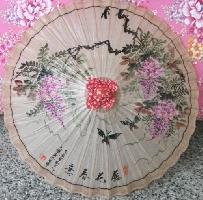 紫藤油紙傘-直徑80cm 其他圖片1