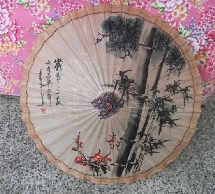 松梅竹油紙傘-直徑80cm 其他圖片3