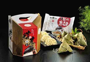 粽意禮盒(鹽水肉粽意麵組)