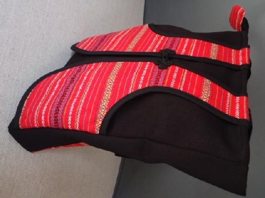 泰雅背心側背包側面 其他圖片1