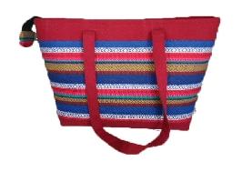 泰雅手工織布包