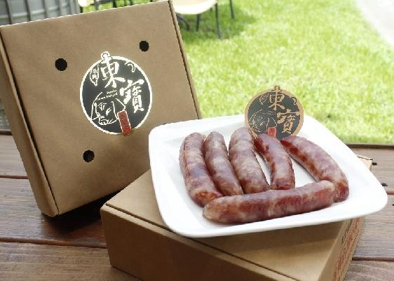 黑豬肉手工香腸禮盒$420/盒 店家其他2