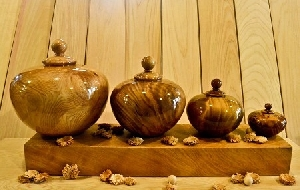 檜木聚寶瓶
