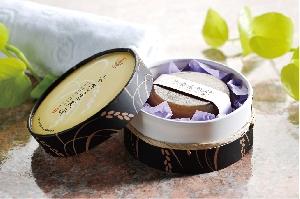 清香素肌研紫米手工皂