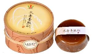 清香素肌研米香胚手工皂