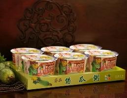 翠玉絲瓜粥