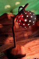 漂流木檯燈