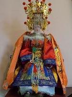 紙製軟身媽祖神像