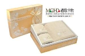 有機棉毛浴巾禮盒