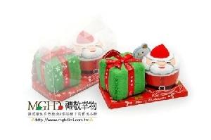 塔公公和聖誕禮物毛巾