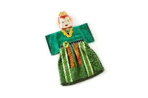 布袋戲造型擦手巾鐵扇公主
