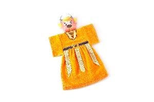 布袋戲造型擦手巾牛魔王