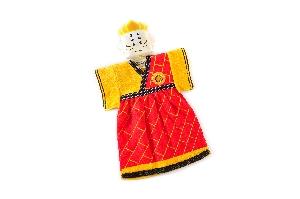 布袋戲造型擦手巾唐三藏