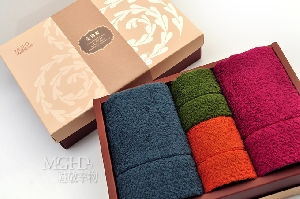 圍時尚美國棉-毛方巾禮盒 其他圖片3