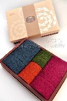 圍時尚美國棉-毛方巾禮盒 其他圖片1