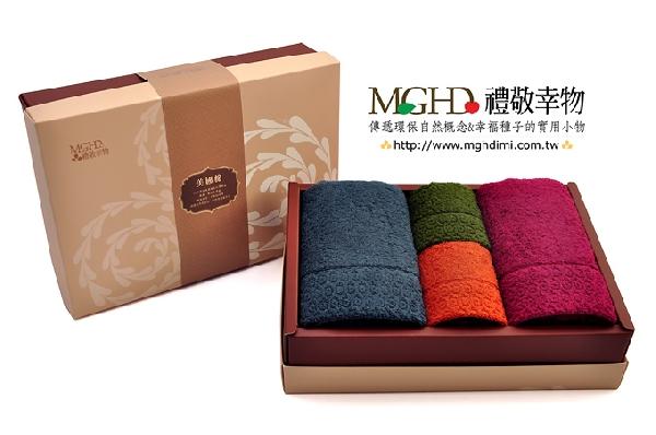 圍時尚美國棉-毛方巾禮盒 封面圖片