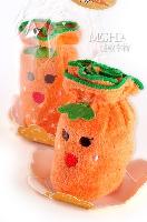紅蘿蔔蛋糕毛巾(拜年)