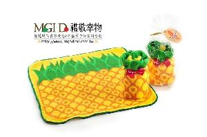旺旺來-鳳梨蛋糕毛巾(拜年)