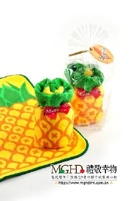 旺旺來-鳳梨蛋糕毛巾(拜年) 其他圖片1