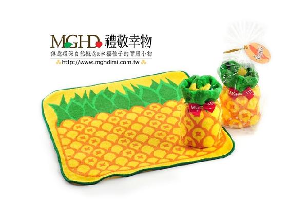 旺旺來-鳳梨蛋糕毛巾(拜年) 封面圖片
