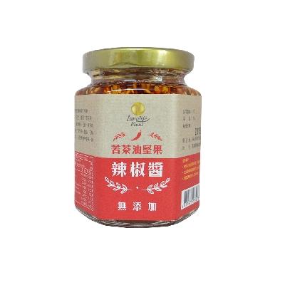 以苦茶油作為基底,搭配上五種堅果以及花椒,特別的顆粒口感讓人停不下來 店家其他3