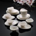 千塘茶具組-13件(白)