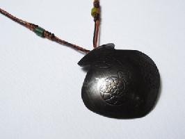 手工編織平安陶壺項鍊