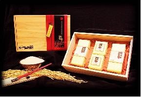 金農米--米之藝 木盒禮盒